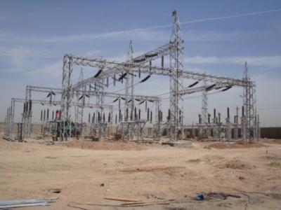 Installation Substation / Switch yards from 11kv to 132 kv